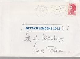 LSC 1987 - Cachet CAMP DE LA VALBONNE (Ain) - Poststempel (Briefe)