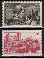 FRANCE 1939 - Y.T. N° 448 / 449  - NEUFS** - France