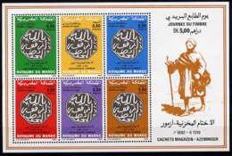 MAROC - BF14** - JOURNEE DU TIMBRE - Marokko (1956-...)