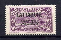 LATTAQUIE - 4* - ALEXANDRETTE - Unused Stamps