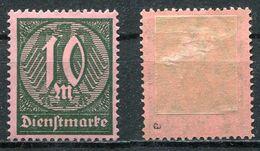 D. Reich Dienst Michel-Nr. 68a Ungebraucht - Geprüft - Dienstpost