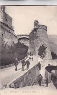 MONACO. LA MONTEE DU PALAIS. CPA CIRCA 1900s - BLEUP - Palais Princier