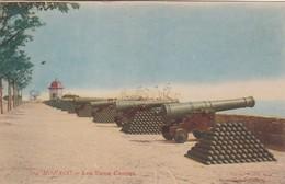 MONACO. LES VIEUX CANONS. EDITION PICARD. CPA CIRCA 1900s - BLEUP - Multi-vues, Vues Panoramiques