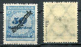 D. Reich Dienst Michel-Nr. 88 PE Postfrisch - Geprüft - Officials