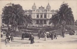 MONACO. MONTE CARLO, LE CASINO. LA FAÇADE. LL. CIRCULEE 1910 A BUENOS AIRES - BLEUP - Casino