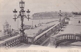 MONACO. CASINO DE MONTE CARLO. LES TERRASSES. ND PHOT. CPA CIRCA 1900s - BLEUP - Les Terrasses