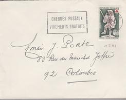 LSC 1968 ?? - Cachet Rond Sur YT 1541 - Poststempel (Briefe)