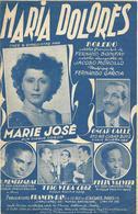 Maria Dolorès - Marie José (p;Fernand Bonifay ; M: Fernando Garcia), 1949 - Non Classés