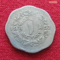 Pakistan 1 Anna 1953 KM# 14  Paquistao - Pakistan
