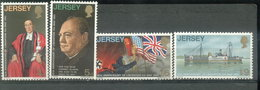JERSEY  ESTAMPILLAS - YVERT 20/23 (#1040) - Jersey