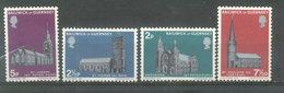 GUERNSEY  ESTAMPILLAS - YVERT 53/56(#1052) - Guernsey