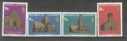 GUERNSEY  ESTAMPILLAS - YVERT 30/33  (#1047) - Guernsey