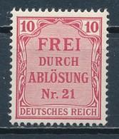 °°° GERMANY TERZO REICH - Y&T N°4 SERV. - 1903 MNH °°° - Nuovi