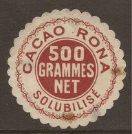 LETTER SEAL. ADVERTISING. RONA COCOA. - Publicités