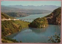 CAGNO' - PONTE CASTELLAZ SUL LAGO DI SANTA GIUSTINA - Val Di Non   Nv TA2 - Trento