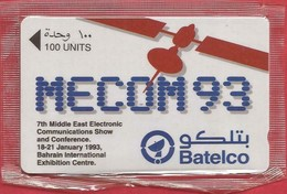 Bahrain - GPT, 13BAHB, Mecom 93, Conference, Satellite, 100Units, 5000 Ex, 1933, Mint NSB As Scan - Bahrain