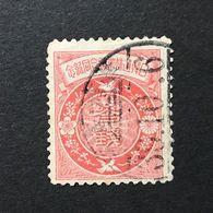 ◆◆◆Japan  1905   Symbols Of Korea And Japan   3Sen  USED 台湾.基隆  Taiwan Keelung  CANCEL  AA2672 - Japon