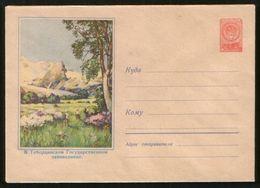 Russia USSR 1958 Stationery Cover Tebedin Reserve - 1923-1991 UdSSR