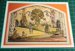 Artist ~ Fay Pomerance ~ Ballet Project 1967, Act II.  The Garden Of Eden - Malerei & Gemälde