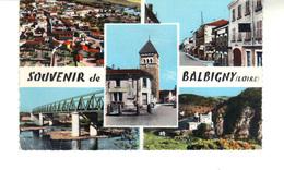 CPM -    Souvenir De Balbigny  -  Carte 5 Vues - France