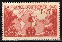 FRANCE 1940 - Y.T. N° 453 - NEUF** /2 - Frankreich