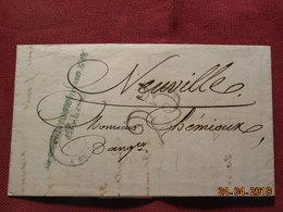 Lettre De 1851 à Destination De Neuville - Poststempel (Briefe)