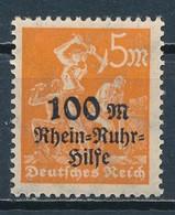 °°° GERMANY TERZO REICH - Y&T N°251 - 1923 MNH °°° - Deutschland