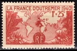 FRANCE 1940 - Y.T. N° 453 - NEUF** /6 - Frankreich