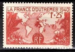 FRANCE 1940 - Y.T. N° 453 - NEUF** /8 - Frankreich