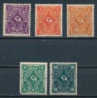 °°° GERMANY TERZO REICH - Y&T N°196/99/203 - 1922 MNH °°° - Deutschland