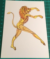 Artist ~ Fay Pomerance ~ Ballet Project 1967, Lion, Corps De Ballet - Malerei & Gemälde