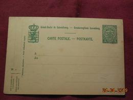 Entier Postal Du Luxembourg - Ganzsachen