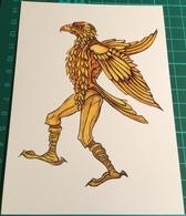 Artist ~ Fay Pomerance ~ Ballet Project 1967, Eagle, Corps De Ballet - Malerei & Gemälde