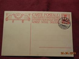 Entier Postal De 1909 (inauguration Du Monument Commémoratif De 1909 (fondation De L' UPU) - Ganzsachen