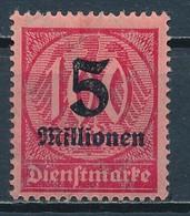 °°° GERMANY TERZO REICH - Y&T N°47 SERV. - 1923 MNH °°° - Deutschland