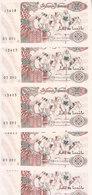 ALGERIA 200 DINARS 1992 P-138 LOT X5 UNC NOTES */* - Algerije