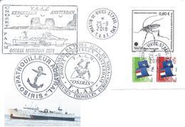 12955  Patrouilleur OSIRIS - MISSION ISIS - St PAUL Et AMSTERDAM 2018 - Terres Australes Et Antarctiques Françaises (TAAF)