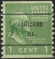 UNİTED STATES 1939 - Mi. 411C O, George Washington (1732-1799), First President Of The U.S.A. - Oblitérés