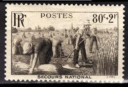 FRANCE 1940 -  Y.T. N° 466 - NEUF** /4 - Neufs