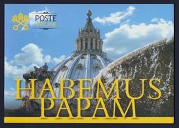 "2013 VATICANO ""HABEMUS PAPAM"" FOLDER (POSTE VATICANE) - FDC"