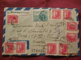 Lettre De 1950 à Destination De Paris - Uruguay