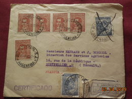 Lettre De 1940 à Destination De Montpellier En Recommandé - Argentine