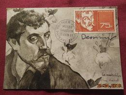 FDC De 1965  (gauguin) Poste Aérienne - FDC