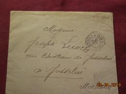 Lettre En FM à Destination De Josselin De 1915 - Postmark Collection (Covers)