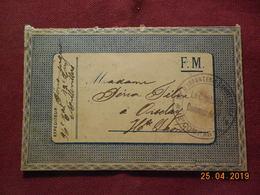 Carte-Lettre En FM De 1916 à Destination De Oiselay - Poststempel (Briefe)
