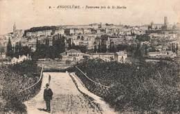 16 Angouleme Panorama Pris De St Saint Martin - Angouleme