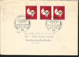O) 1964 GERMANY, OLYMPIC GAMES TOKIO. JUDO -SPORT, FROM BONN TO USA - Germany