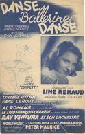 Danse, Ballerine, Danse - Line Renaud (p;André Hornez ; M: Carl Sigman), 1947 - Non Classés