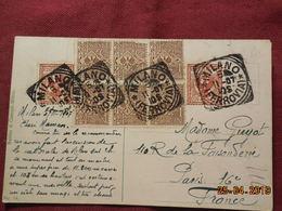 Carte De 1907  à Destination De Paris - 1900-44 Victor Emmanuel III