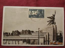 Carte De 1937  Avec Timbre No 337 - Poststempel (Briefe)